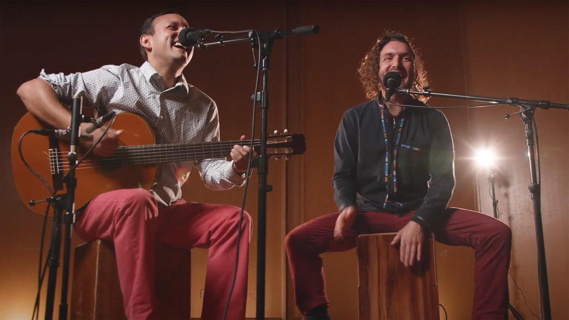 Richard Hildner Armacanqui and Juan Tomás Martínez