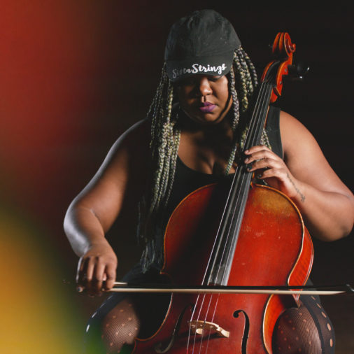 Monique Ross of SistaStrings, featured in Re/Sound: Songs of Wisconsin