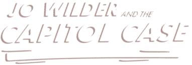 Logo: Jo Wilder and the Capitol Case