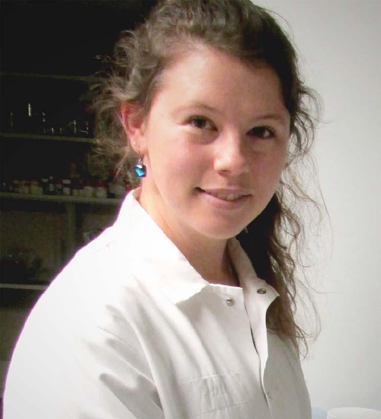 Scientist in white lab coat